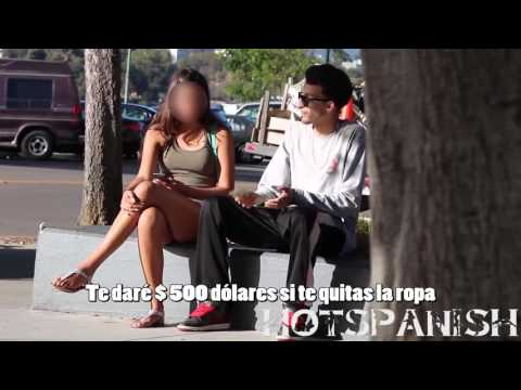 Girl Taking Her Clothes off FOR MONEY!!! PRANK