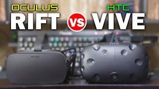 Oculus Rift vs HTC Vive - Ultimate In-Depth Hands-On Comparison