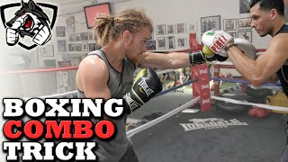 Boxing Combo: Lead Hook Trick to Land More Punches!