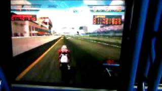 namco game 1998 s moto gp 500. Arcade simulator by namco. nsr 500 honda race bike simulator..3GP
