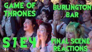 GAME OF THRONES Reactions at Burlington Bar /// S7 Episode 4 FINAL SCENE \\\