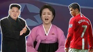 North Korea Launch £100m Bid To Bring Cristiano Ronaldo To Manchester United*