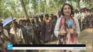 الروهينغا: المساعدات الإنسانية لا تسد احتياجات اللاجئين