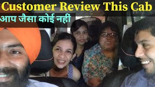 Customer Review Goldy Singh cab