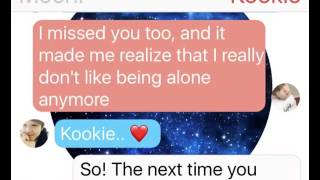 Dirty thoughts (JIKOOK TEXTING STORY) #50