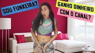SOU FUNKEIRA?! GANHO DINHEIRO COM O CANAL? | VIVI RESPONDE