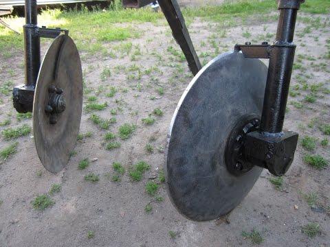 Как сделать колесо на культиватор 555