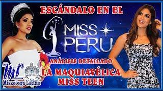 Escándalo en el Miss Perú - La Maquiavélica Miss Teen