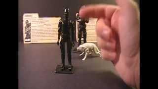 HCC788 - 1982 & 1985 SNAKE EYES - G. I. Joe toy review! HD S01E37