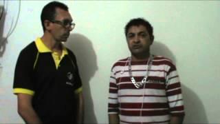Entrevista exclusiva concedida ao piancoonline com Faxinildo do Programa do Ratinho no SBT