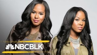 YouTube GlamTwinz, Kelsey and Kendra Murrell, Embrace Natural Beauty   NBC BLK   NBC News