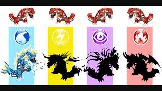 Groudon - Pokemon Evolution & Ultimate Power.
