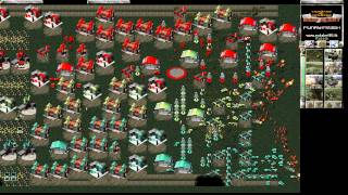 Red Alert 1 HD - Tower defense cooperation WO def - C&C ra1 Online AI comp stomp on CnCNet 1280 720