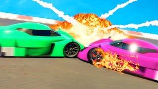 GIRLFRIEND vs. BOYFRIEND ON GTA 5! (GTA 5 Funny Moments)