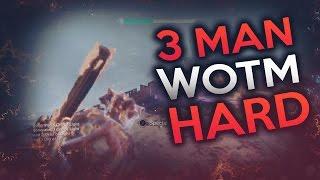 3 Man Wrath of The Machine HARD (Full Raid) Destiny