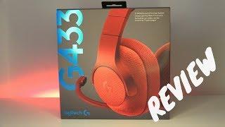 Logitech G433 7.1 Surround Gaming Headset: Sweet Stuff!