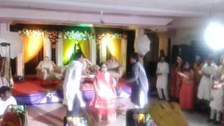 Dhakai sari - holud dance