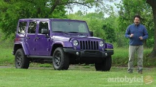 2016 Jeep Wrangler Unlimited Sahara Test Drive Video Review