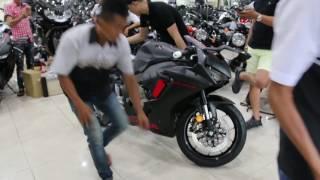 [MotoSaigon.vn] Đánh giá xe Honda CBR1000RR 2017 đen nhám tại Việt Nam