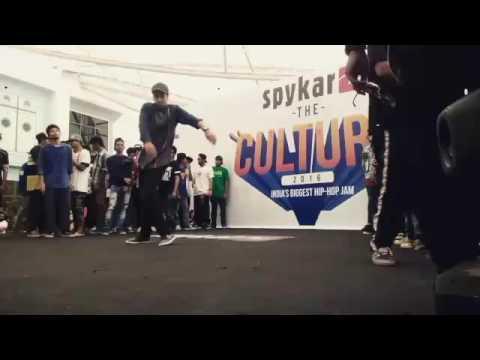 The Culture 2k16 Spykar   Elimination round   Junaid khan
