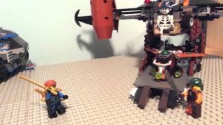 Pirates revenge. A stop motion shortt