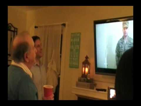 Military Son Surprises Dad at 70th