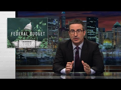 Federal Budget Last Week Tonight with John Oliver HBO