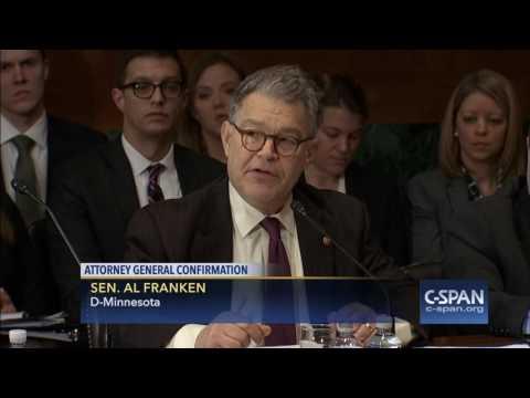 Sen. Al Franken full statement on Attorney General Nominee Sen. Jeff Sessions C SPAN