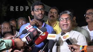 vishal vs ponnvannan | Vishal is genius,  tamil news live, tamil news today  tamil news redpix