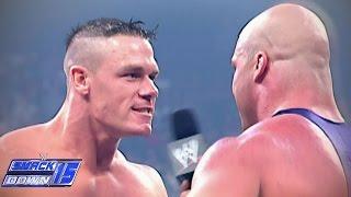 John Cena makes a huge debut against Kurt Angle