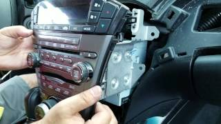 How to Remove Radio / Navigation / CD DVD Player from Acura MDX 2009 for Repair.