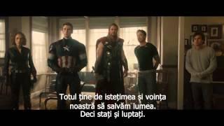 Răzbunătorii: Sub semnul lui Ultron trailer 3 subtitrat in romana (Starfilme com)