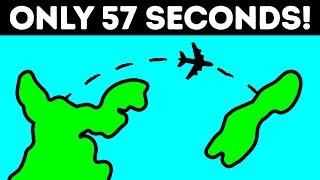 The Shortest 57-Second Passenger Flight in the World