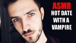 ASMR Hot Date with a Vampire/ Personal Attention, Roleplay, Soft Spoken