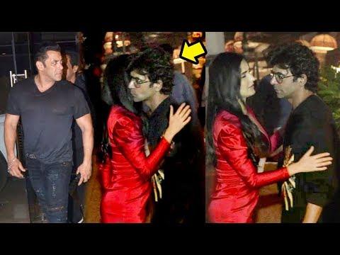 Xxx Mp4 Salman Khan Gets JEALOUS As Gf Katrina Kaif HUGS A Stranger At Bharat Movie Wrap Up Party 3gp Sex