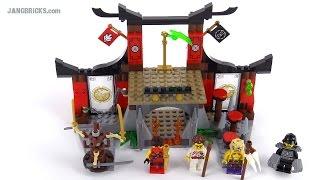 LEGO Ninjago Dojo Showdown review! set 70756