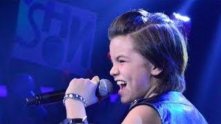 It's My Life Bon Jovi (Cover) - Singing Contest 11 yr. old Shon Burnett