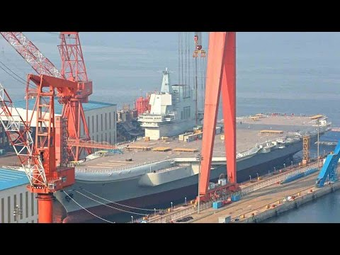 Xxx Mp4 China S First Homemade Aircraft Carrier Type 001A Ready To Enter The Water 3gp Sex