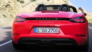 Porsche 718 Boxster - official promo film