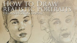 How To Draw Realistic Portraits From Photographs