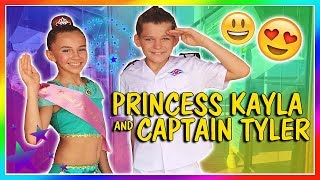 BEING A PRINCESS AND CAPTAIN OF THE SHIP   We Are The Davises