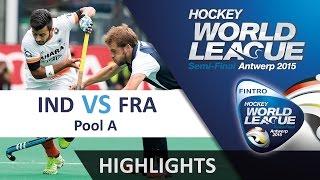 India v France Match Highlights - Antwerp Men