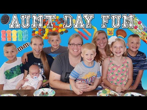 Aunt Day FUN! Surprise Cookie Decorating!!