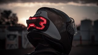 Top 8 Latest Motorcycle gadgets and gear 2018   Jarvish helmet   Samsung Windshied
