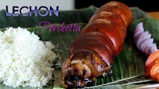 Lechon Porchetta Filippino Pork Roast 🎅 International Cuisines