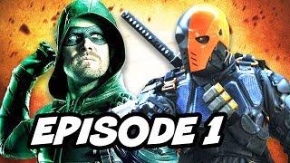 Arrow Season 6 Episode 1 Trailer - Deathstroke and Richard Dragon Breakdown