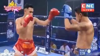 Khmer Boxing, កែងឥតស្រមោល, Viet Bundoeun vs Lumnavthai, Kun Khmer Boxing, CNCTV Boxing