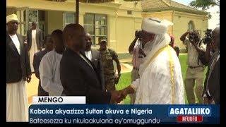 Kabaka akyazizza Sultan okuva e Nigeria