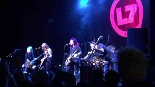 L7  live in manchester uk 2016