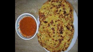 MazayDar Masalay Wali Basni Roti Recipe